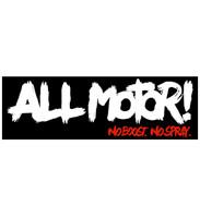 All Motor Sticker | Black