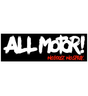 All Motor Sticker | Black