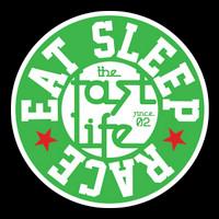 Fast Life Cap Sticker   Green/Red
