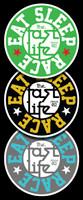 Fast Life Cap Sticker | 3-Pack