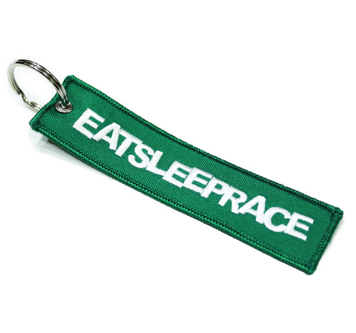 Embroidered Keychain | Green