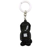 Bobblehead Keychain   Black