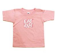 Kids Logo T-Shirt | Pink/White