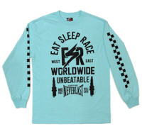 ESR Bolt Long Sleeve Shirt | Teal