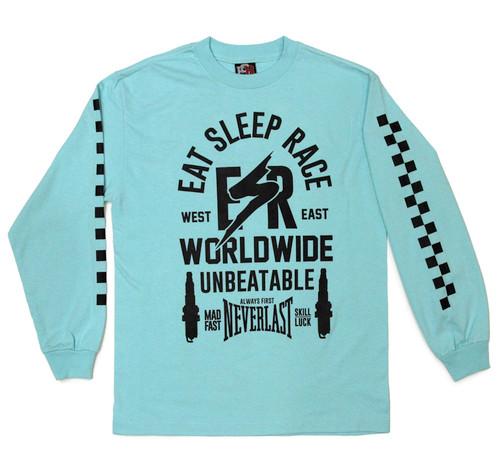 ESR Bolt Long Sleeve Shirt | Teal