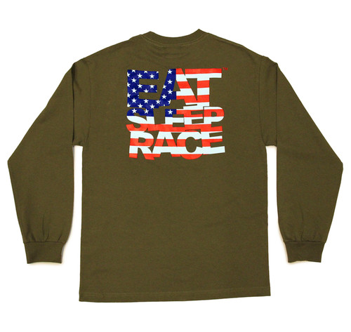ESR USA Long Sleeve Shirt | Olive