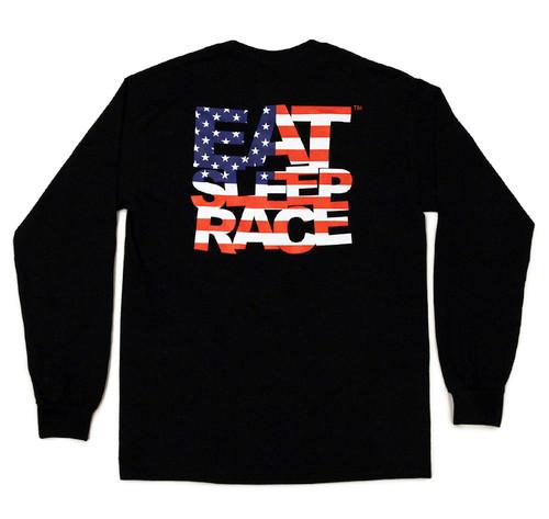 ESR USA Long Sleeve Shirt | Black