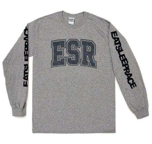 Mad Fast Long Sleeve Shirt | Grey/Black
