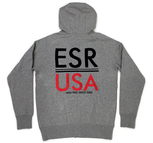 Zip Up Hoodie ESR USA | Grey