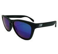 ESR Speed Line Sunglasses   Matte Black/Blue Iridium (UV400)   Pouch
