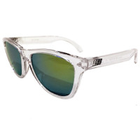ESR Speed Line Sunglasses | Clear/Gold Iridium (UV400) | Pouch