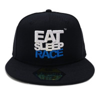 Logo Team Snapback Hat | Black/Blue