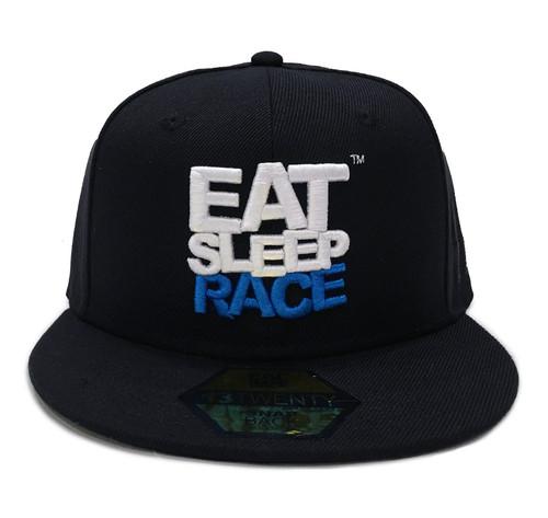 Logo Team Snapback Hat | Black/Blue