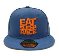 Logo Team Snapback Hat | Blue/Orange