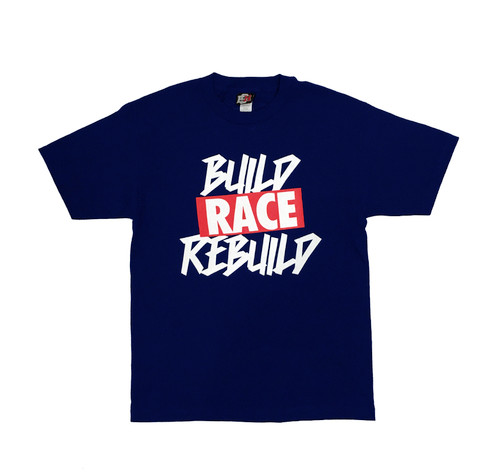 Build Rebuild 2 T-Shirt | Navy/Red