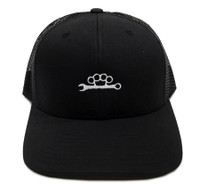 Knuckle Wrench Trucker Hat | Black