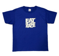 Kids Logo T-Shirt | Blue/White