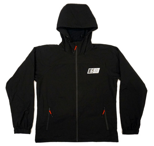 Grand Prix Windbreaker Jacket | Black