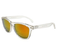 ESR Fastlife Sunglasses | Clear/Red Iridium (UV400) | Pouch