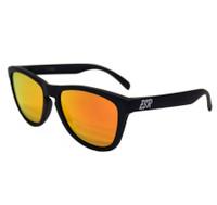 ESR Fastlife Sunglasses | Matte Black/Orange Iridium (UV400) | Pouch