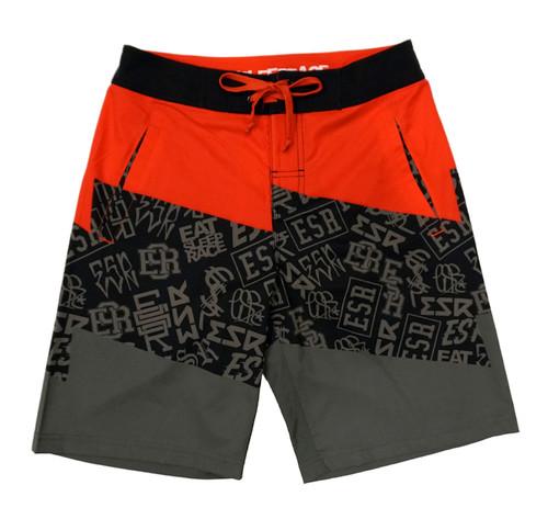 Board Shorts | ESR Bolt Pattern Red