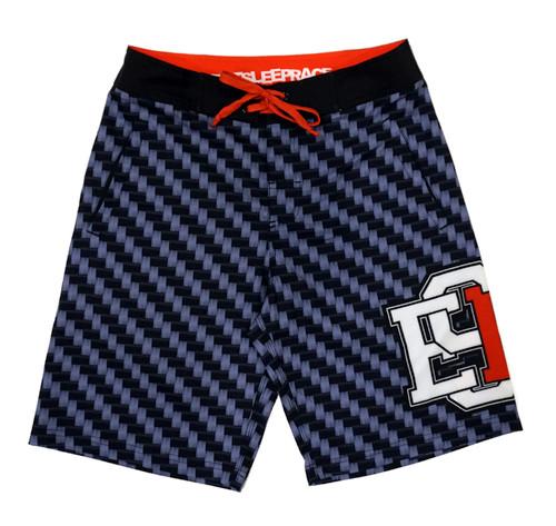Board Shorts | Carbon Fiber Red