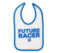 Infant Future Racer Bib | Blue/White