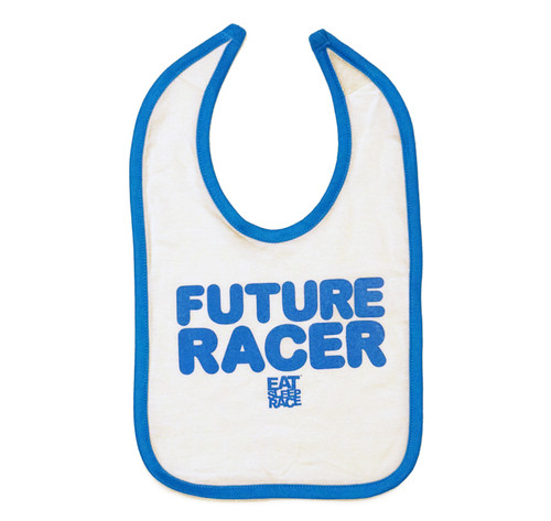 Infant Future Racer Bib | Blue/White