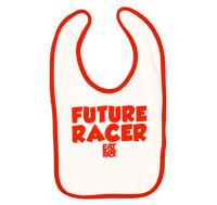 Infant Future Racer Bib v2 | Red/White