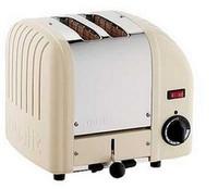 Dualit 2 Slot Toaster 20247 Utility Cream Finish