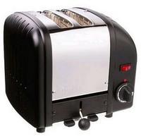 Dualit 2 Slot Toaster 20237 Black Finish