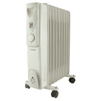 Lloytron F2603GR 2Kw Oil Filled Radiator in Grey