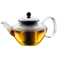 Bodum Classic Tea Press with Stainless Steel Filter & Lid