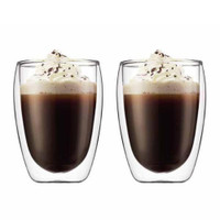 Bodum Pavina Double Wall Glasses Set 0.35Ltr