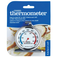 Kitchen Craft Oven Thermometer, Stainless Steel