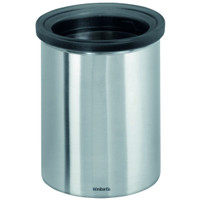 Brabantia Waste Bin for Tea Bags and Coffee Pods in Matt Steel