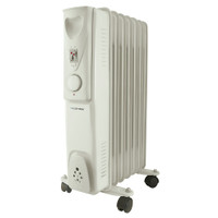 Lloytron F2602GR Stay Warm 7 Fin Oil Radiator 1500W