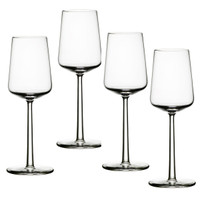 Iittala Essence 33cl White Wine Glass, Set of 4