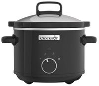 Crock-Pot Slow Cooker 2.4 Litre in Black