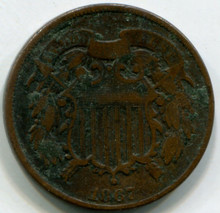 1867  Two cents G