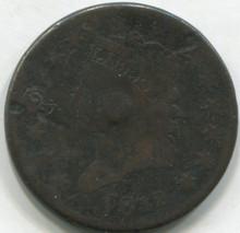 1812 Large Cent  VG