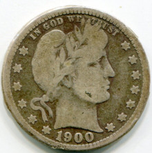 1900  Barber Quarter G