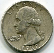 1937  Washington Quarters  XF45