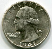 1941 D  Washington Quarters  MS60