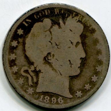 1896 Barber Half Dollar G