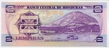 Honduras 2 Lempiras P61 UNC