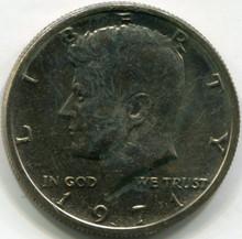 1971 Kennedy Half Dollar,  UNC