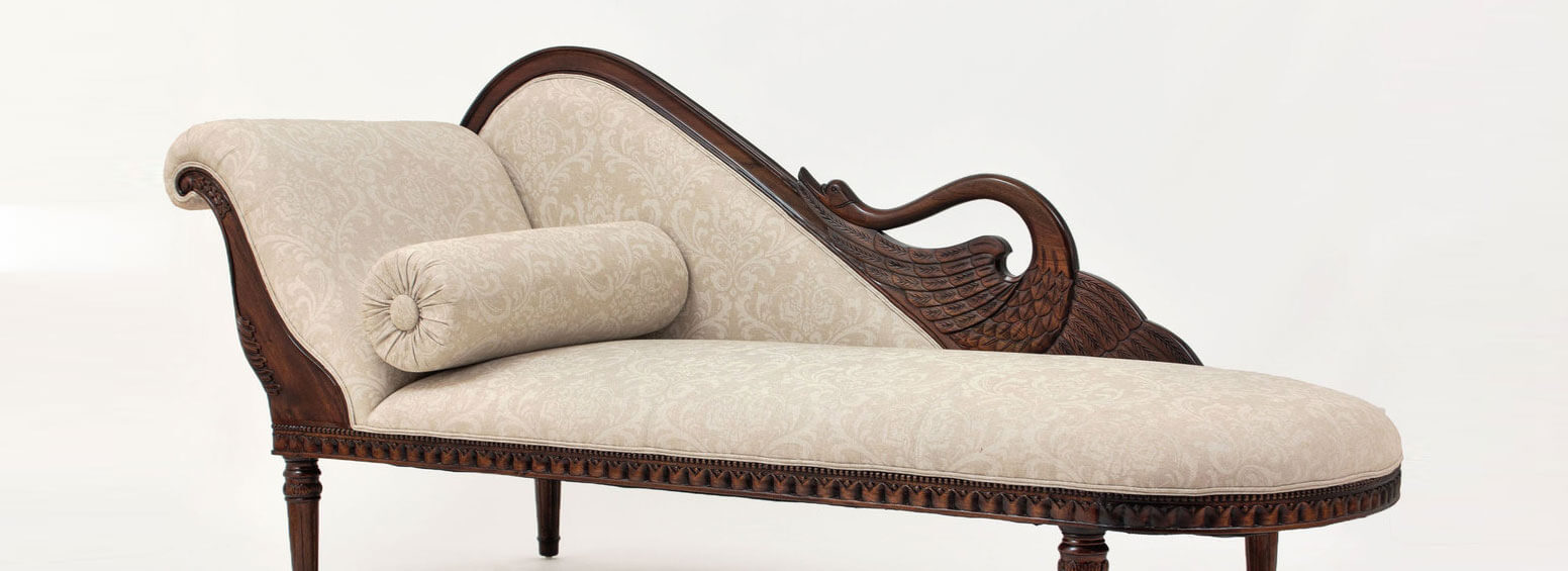 Antique Style Sofa - Antique Reproductions & Handcrafted Furniture Laurel Crown