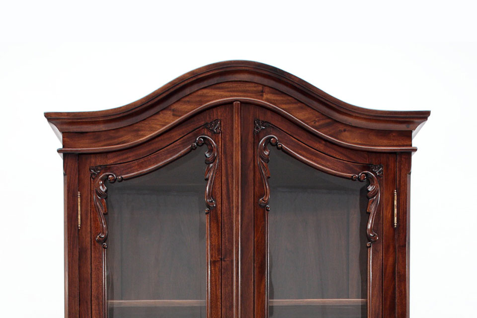Chippendale Cabinets by Laurel Crown