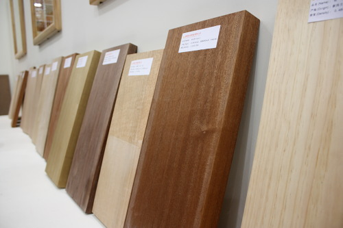 Different types of hardwoods